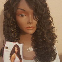 """Magic Lace""  Curly Lace Front Wig"