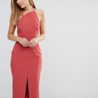 Keepsake Walk the Wire Midi Dress at asos.com