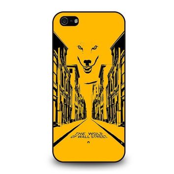 the wolf of wall street iphone 5 5s se case cover  number 1