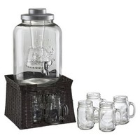 Artland Oasis Chill and Flavor Beverage Server - Clear (3 Gallon)