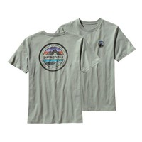 Patagonia Men's Rivet Logo T-Shirt | Gravel Heather