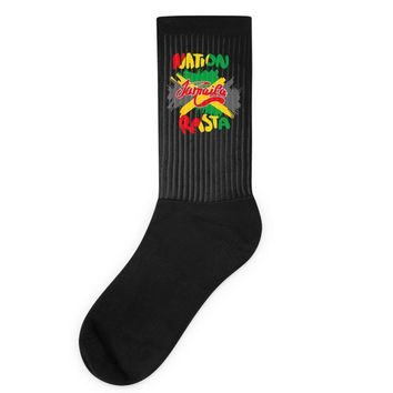 rasta nation, the reggae and dancehall Socks