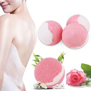 Y&W&F Moisturizing Bubble Bath Bomb Ball Essential Oil Bath SPA Stress Relief Exfoliating Bath Salt Bathing Accessories