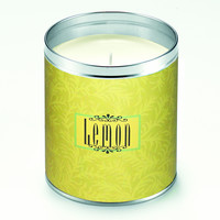 Lemon Scroll Candle
