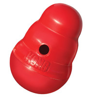 Kong Wobbler Treat Dispensing Dog Toy Size: Small