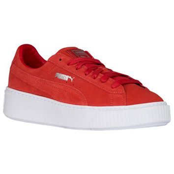 PUMA Basket Platform - Women's at Lady Foot Locker