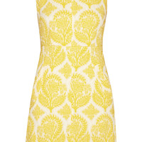 Diane von Furstenberg - Carpreena floral-jacquard dress