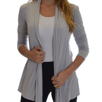 Women's Flyway Silver Cardigan
