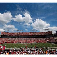 Artissimo Designs NFL Tampa Bay Buccaneers Stadium Canvas Art
