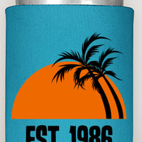 30th Birthday Party Can Coozies, 30 and hot buy me a shot, birthday parties, custom coozies, surprise birthday party, custom can coolers