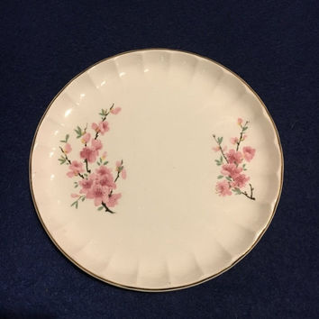5 DAY SALE (Ends Soon) 1940s WS George Bolero Peach Blossoms Salad Plate