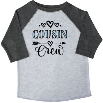 Cousin Crew Arrow Childs Toddler T-Shirt Heather and Smoke $24.99 www.personalizedfamilytshirts.com