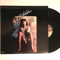 Vinyl LP Flashdance Original Soundtrack From The Motion Picture Record Album Irene Cara Donna Summer