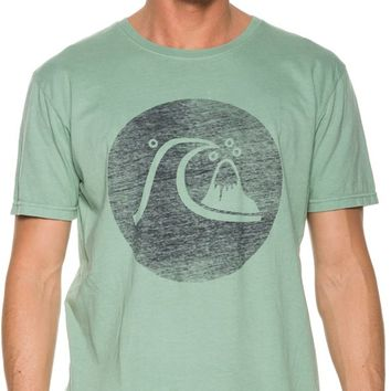 QUIKSILVER HERITAGE CIRCLE SS TEE