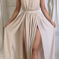Sexy Backless Sleeveless Dress