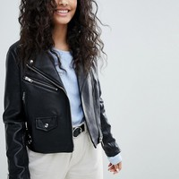 Bershka Biker Jacket at asos.com