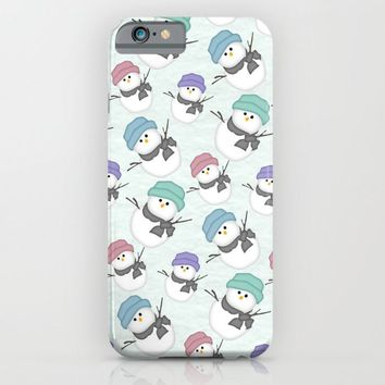 Snow People iPhone & iPod Case by Alice Gosling | Society6