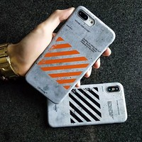 OFF GRID WHITE CASE- ORANGE