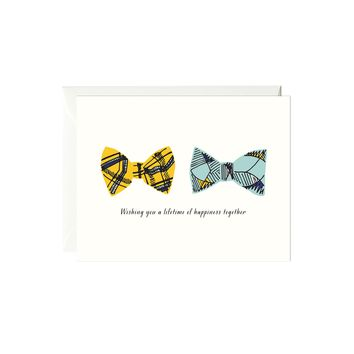 Wedding Bowties Card