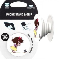 Snow White Phone Stand & Grip