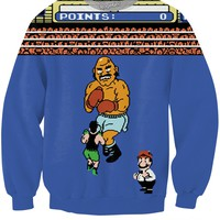 Punch-Out Crewneck Sweatshirt