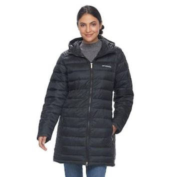 Women's Columbia Frosted Ice Hooded Puffer Jacket | Null