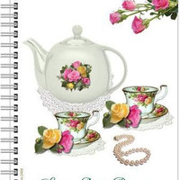 Old Country Roses Spiral Notebook Journal