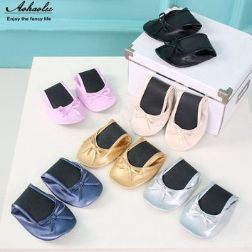 Aohaolee After Party Women Foldable Ballet Flats Portable Travel Fold up Shoes Prom Ballerinas Wedding Shopping Flat Shoe