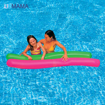 2PCS/Set 180cm Inflatable Floating Tube Island Water Pool Floats Adults Kids Summer Swimming Party Fun Floating  Buoy Toy