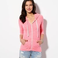 AEO Women's Back Graphic Hoodie T-shirt