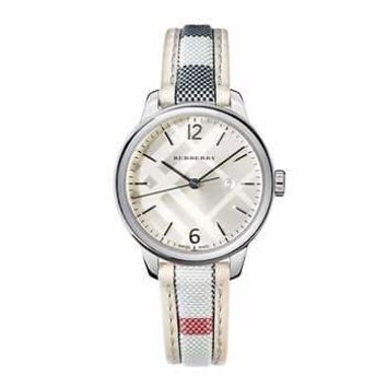 Burberry The Classic Round Ladies Watch