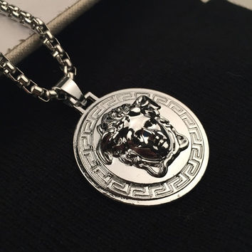 Gift Jewelry Shiny New Arrival Stylish Hot Sale Fashion Accessory Hip-hop Korean Couple Necklace [6544255875]