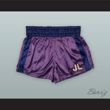 Joe Louis Purple Boxing Shorts