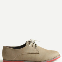 Side Streets Oxfords - $38.00 : ThreadSence, Women's Indie & Bohemian Clothing, Dresses, & Accessories