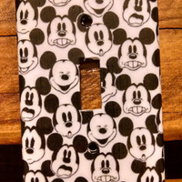 Mickey/Minnie Mouse Light Switch Plate/Cover Multi Patterns