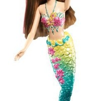 Barbie Green Color Change Mermaid Doll