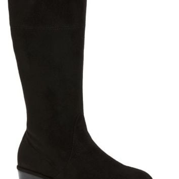 Stuart Weitzman Lowland Bow Riding Boot (Toddler, Little Kid & Big Kid) | Nordstrom