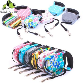 Retractable Leash 5 Meters Flexible Dog Puppy Cat Leashes FREE SHIPPING!