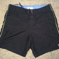 Sale!! Vintage Yves Saint Laurent Shorts YSL beach swim trunks