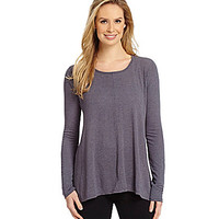 Fresh Produce Studio Long-Sleeve Top - Twilight Grey