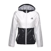 Adidas Women Men Fashion Zip Cardigan Jacket Coat Sweatshirt Windbreaker-1