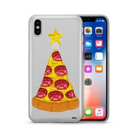 Pizza Cheesemastree - Clear TPU Case Cover