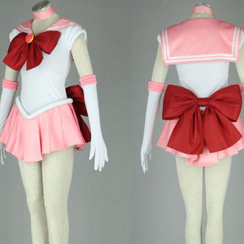 Sailor Chibi Moon Chibiusa Cosplay Costume Outfit