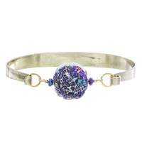 Round Rainbow Druze Bangle | VidaKush