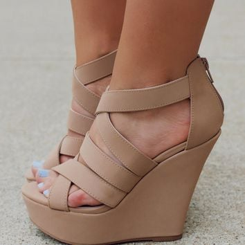 Taupe of the Morning Wedge