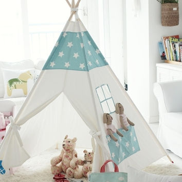 Children teepee tent, baby play tent