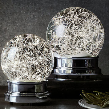 Starry Light Snow Globes