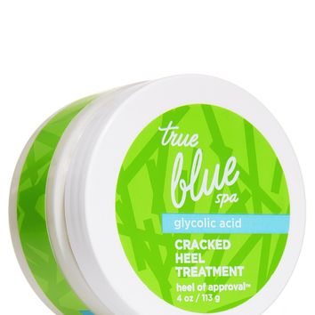 Bath & Body Works True Blue Spa GLYCOLIC ACID Cracked Heels Treatment 10 oz