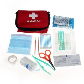Emergency Survival First Aid Kit, Travel,Medical outdoor Emergency kit bag Travel camping