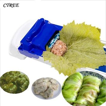 CTREE 1Pcs New Multifunction Sushi Machine Vegetable Cabbage Vegetables Meat Rolling Sushi PP Material Device Sushi Tools C474